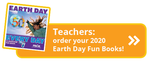 Click to order Earth Day Fun Book 2020