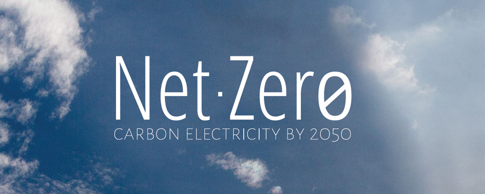 Net Zero Carbon Electricity by 2050
