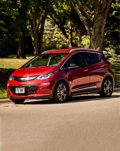 Red Chevy Bolt